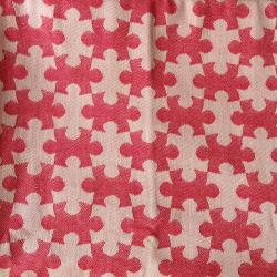 DAIESU Jigsaw Raspberry Woven Baby Wrap