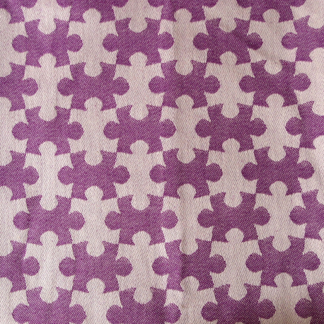 DAIESU Jigsaw Grape Woven Baby Wrap