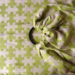 DAIESU Jigsaw Lime ring sling