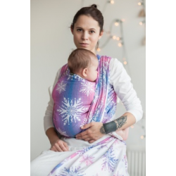 LennyLamb Jacquard weave baby wrap - Winter Delight