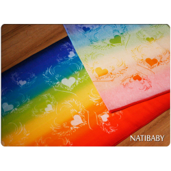 Woven wrap Natibaby WINGS OF LOVE Linen  II