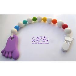ZelBa przypinka silikonowa stopa