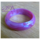 ZelBa metaliczna bransoletka gryzak  silikonowa