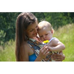 Chusta tkana do noszenia dzieci Magarynka  Skarby Alladyna