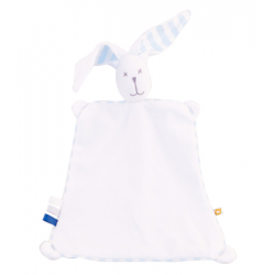 ZIABAQLU Sleepy Bunny Pink Stripes