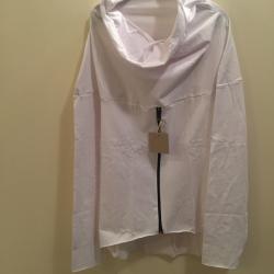 Bluza  ciążowa/dla dwojga z zamkiem NIMAR biała