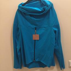 Bluza  ciążowa/dla dwojga z zamkiem NIMAR turkus