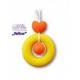 ZelBa gryzak silikonowy Perła