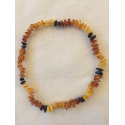 Amber teething necklace - mix