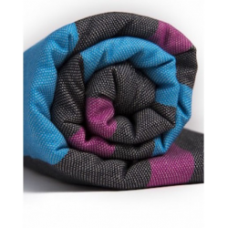 Pandabejbi Woven wrap - Blueberry & Lemon