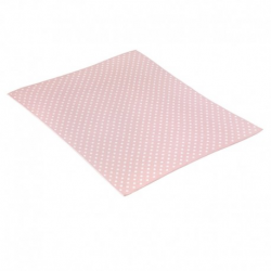CAMBRASS BLANKET COTTON DOTY PINK