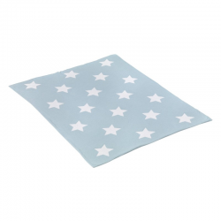 CAMBRASS BLANKET COTTON STAR BLUE