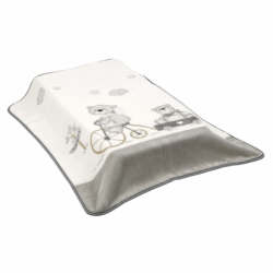 CAMBRASS BLANKET Bici Grey