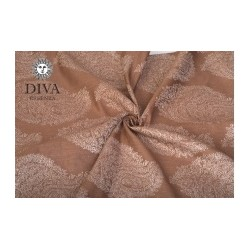 DIVA Essenza Moka Linen Blend Ring Sling
