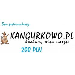 Bon podarunkowy Kangurkowo.pl