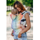 Lenny Lamb Ergonomic Carrier, Toddler, jacquard weave 100% cotton - SYMPHONY RAINBOW LIGHT - Second Generation