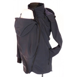 NEW BACK AND FRONT BABYWEARING SOFTSHELL  NIMAR -  Navy