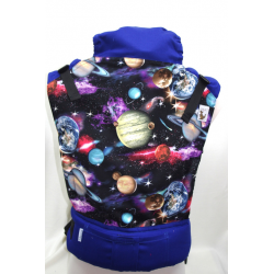 Almelle Ergonomic Carrier - Planets baby size