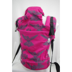 Almelle Wrap Ergonomic Carrier - Fuchsia Toddler