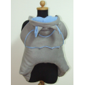 Smocza osłonka do chusty/nosidła Skulart - szaro - niebieska
