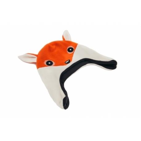 moncziczi - ciepła czapka pilotka - fox lis