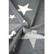 Żakardowa chusta tkana do noszenia dzieci Kokadi Diorite Stars