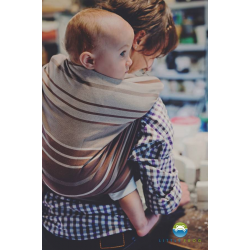 Chusta tkana do noszenia dzieci Little Frog Turkus