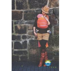 Chusta tkana do noszenia dzieci Little Frog Rodonit