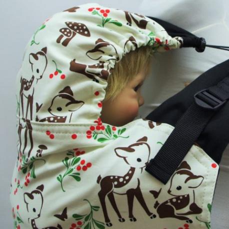 Nosidełko ergonomiczne  Almelle Deer - baby size