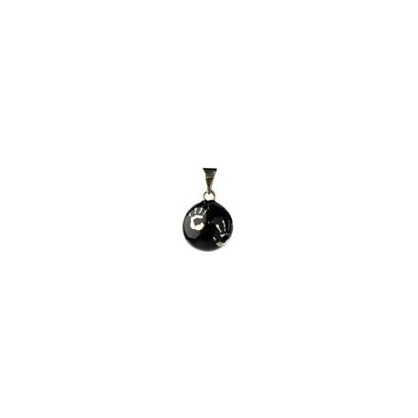Wisiorek Bola - Czarna z rączkami
