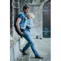 Chusta tkana do noszenia dzieci  Didymos Prima Blue White