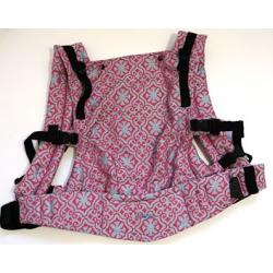 nosidełko regulowane – KAVKA multi-age /Sensimo Azulejo Pink Ocean