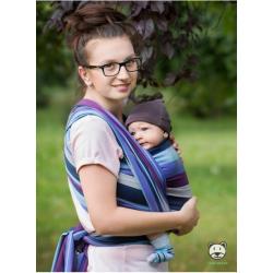 Chusta tkana do noszenia dzieci Luna Dream Lavender Evening