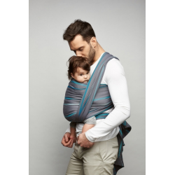 adjustable baby carrier KAVKA multi-age / black dream