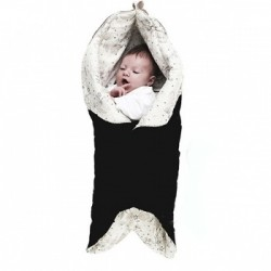 Wallaboo otulacz Leaf  Baby Black