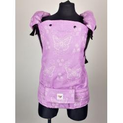 Nosidełko ergonomiczne – SensimoSlings Freely Grow Baby Horses Pink