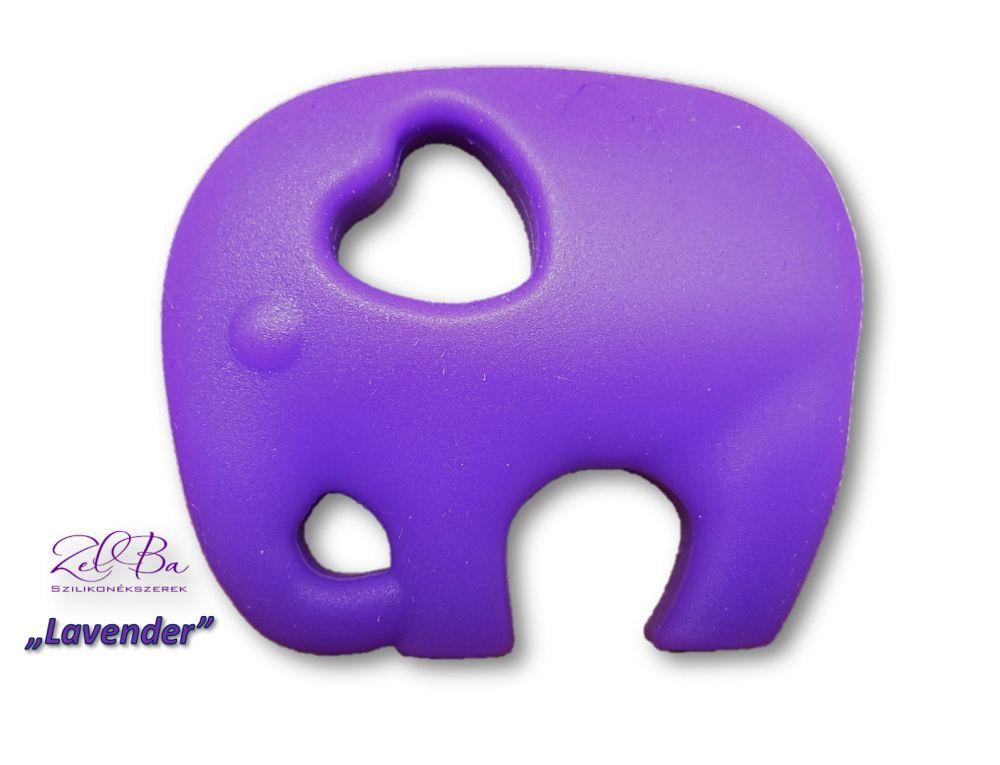 fioletowy słoń