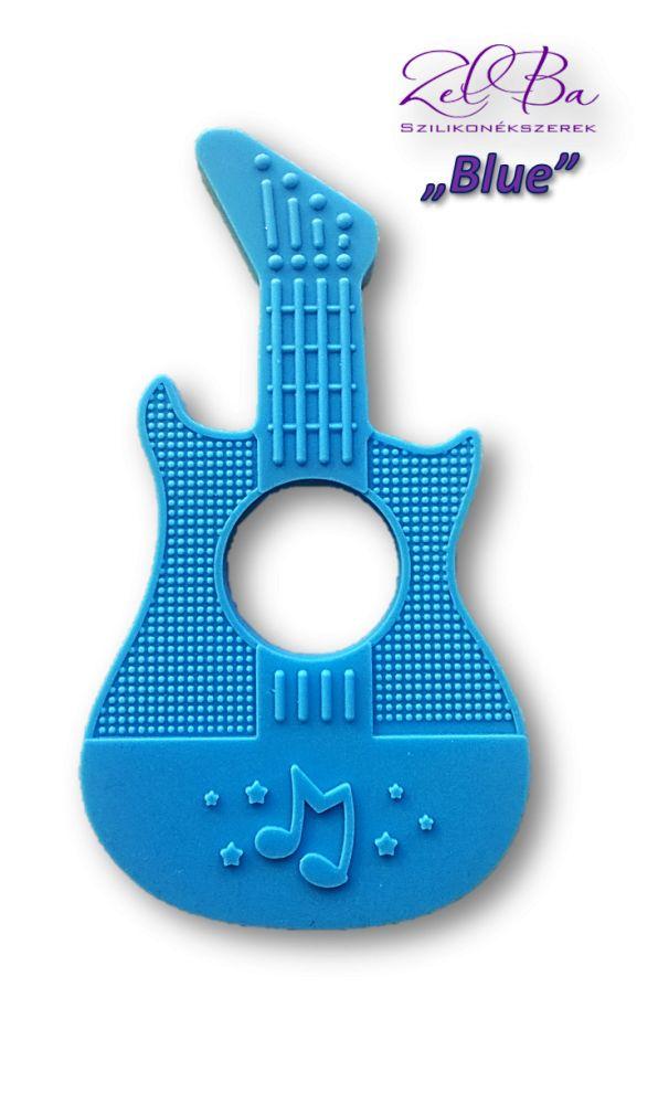 gitara niebieski