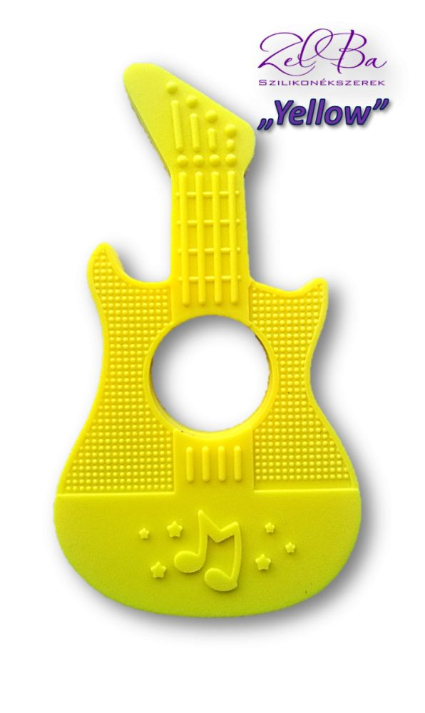 gitara żółty